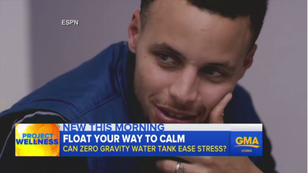 Stephen Curry Sensory Deprivation